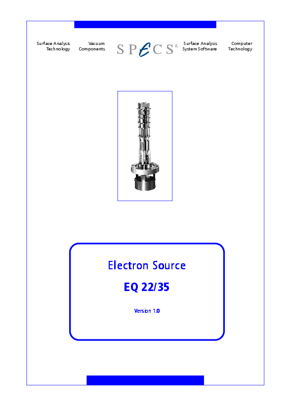 Electron Source EQ 22/35