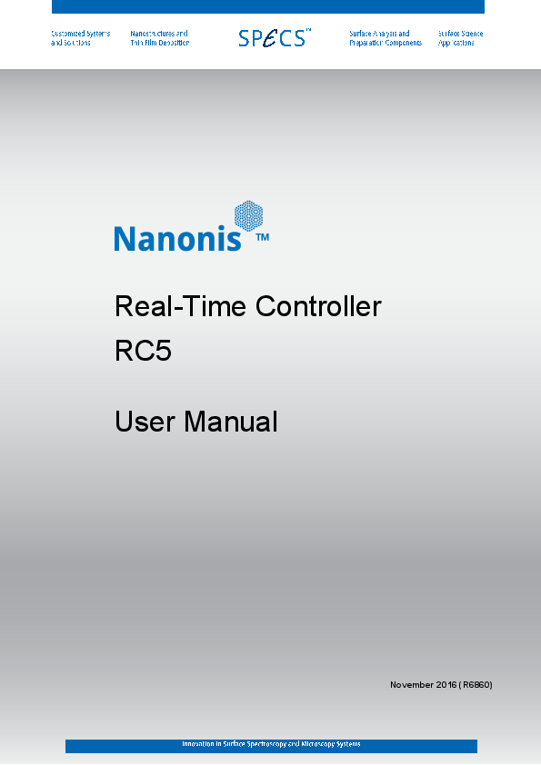 Nanonis Real-Time Controller RC5